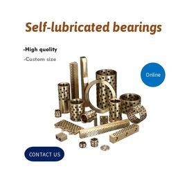 Plug Graphite Cast Bronze Bearing Solid Bronze Plate Self Lubricating | How to realizing the self-lubrication
