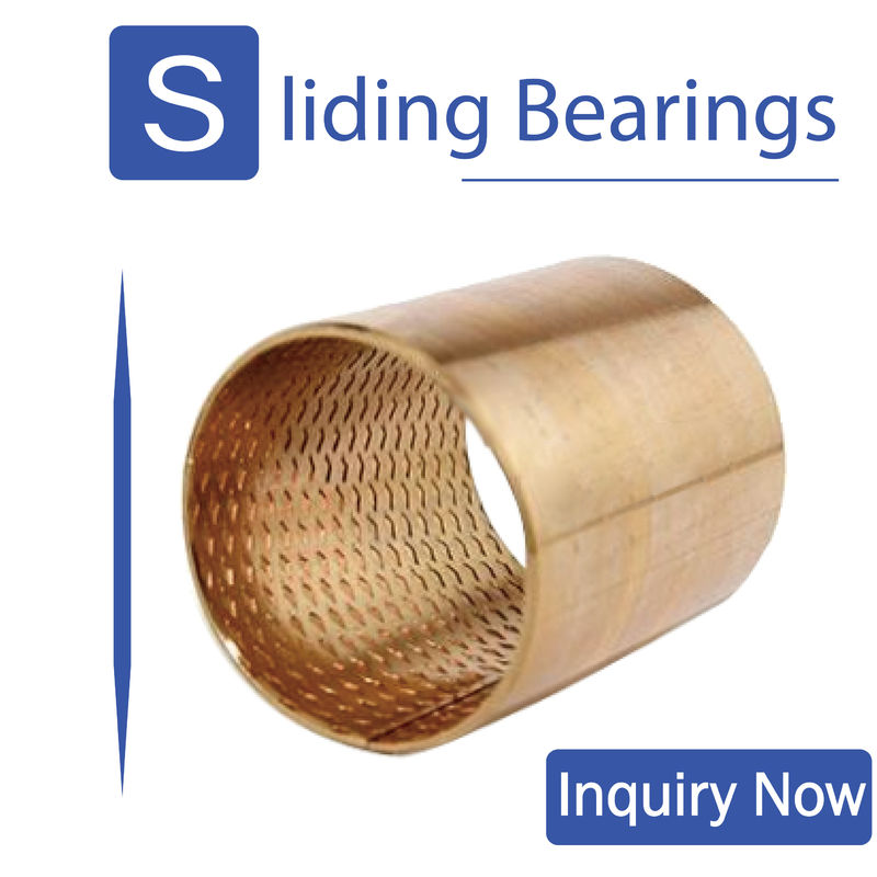Rolled metal bearings,Tin bronze bearing,Self-lubrication is maintenance-free