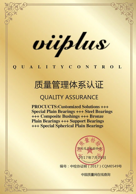 China JIAXING VIIPLUS INTERNATIONAL TRADING CO.,LTD Certificaten
